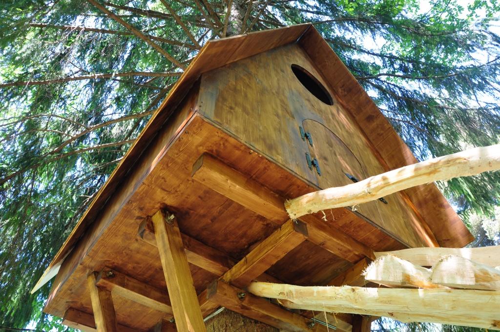 Progetto casa sull albero per bambini - Costruire casa albero ...