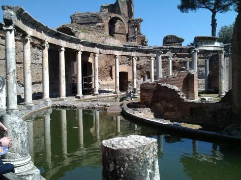Villa Adriana. Tivoli Roma.