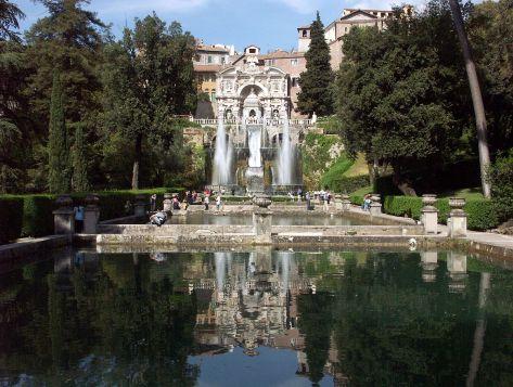 Tivoli,_Villa_d'Este,_Querachse_mit_Neptunbrunnen_und_Wasserorgel_2
