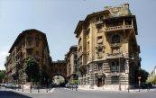 Roma, quartiere Coppedè, palazzina Ambasciatori
