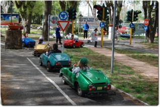 parco scuola traffico