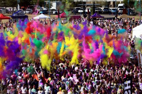 Crazy color run Corinaldo Ancona