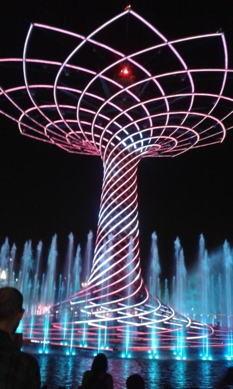 L'Albero della Vita all'Expo 2015
