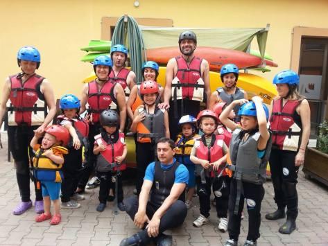 Mini rafting - Rieti città dei bambini