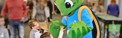 rilascio tartarughe mascotte