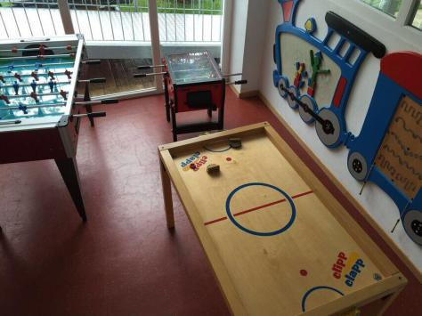 sala giochi- Hotel Gutemberg- Schenna