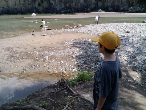 Vulci, il laghetto del Pellicone