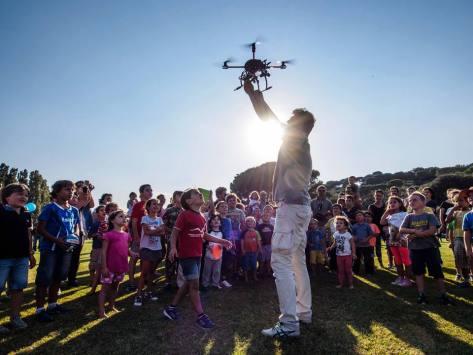 Isola di Einstein. Come funzionano i droni
