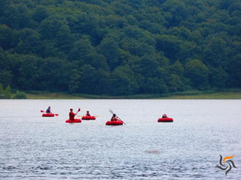Weekend sull'acqua: Tubing sul Lago di Mezzano