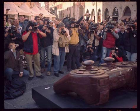 Eurochocolate Perugia. La manifestazione italiana più importante sul pianeta cioccolato.