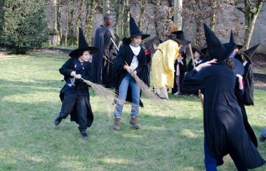 Una giornata con Harry Potter alla Rocca di Lonato del Garda (BS).