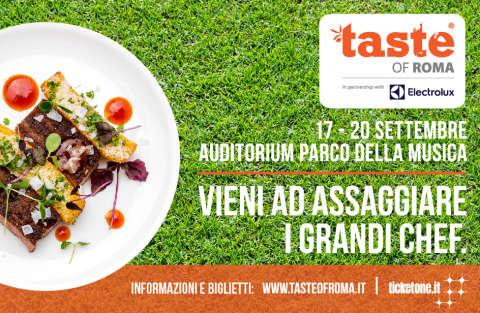 Per genitori golosi e bimbi curiosi: il Taste of Rome !