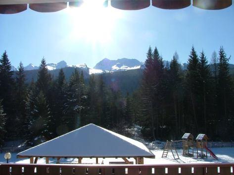 Giardino Hotel sole a Predazzo