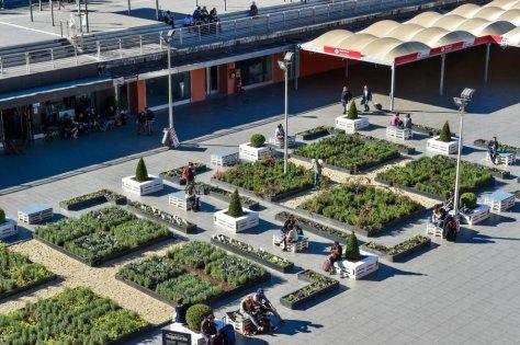 Tiburtina - orto urbano stazione