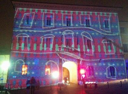 Fermo spettacolo di Video Mapping Irradia nel centro storico