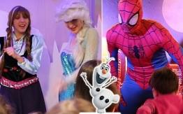 Festa con i supereroi e le principesse- Last Minute Natale