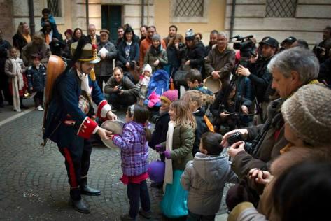 Gran Carnevale Romano. (foto Roberto Huner)