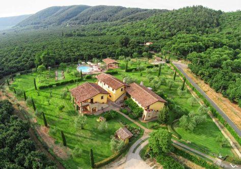 Tuscia viterbese per famiglie e bambini: Agriturismo La Valle di Vico