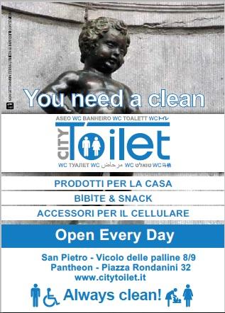 CityToilet Roma_servizi