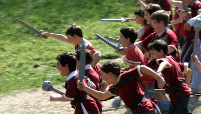Pasqua 2016: Caccia al Drago al Castello di Gropparello