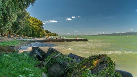 Isola Polvese sul lago Trasimeno