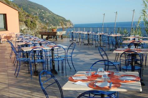 Ristorante Rosa di mare al Resort La Francesca