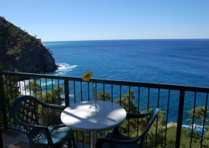 Vista dalle terrazze del Resort La Francesca