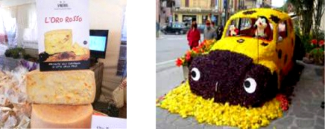 Festa del Tulipano e gastronomia a Città della Pieve in Umbria