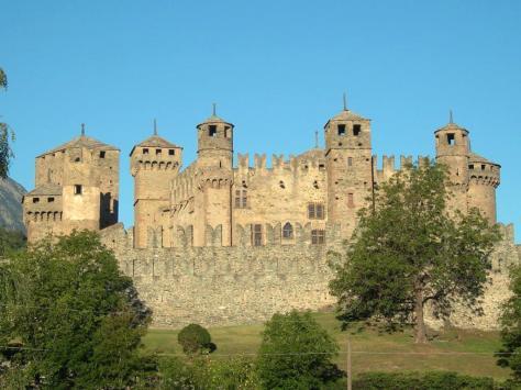 Castello di fénis valle d'Aosta