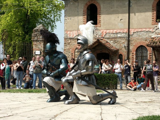 Tutti da Lancillotto al Castello di Grazzano