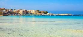 La spiaggia di Mondello a Palermo