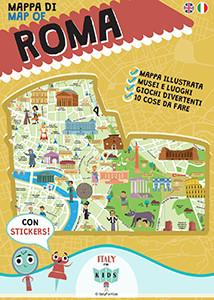Mappa Roma Itali for Kids a Famiglia punto zero