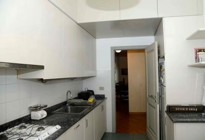cucina dell'appartamento Stanze di Alice- Milano