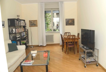 Il salotto dell'appartamento Stanze di Alice- Milano