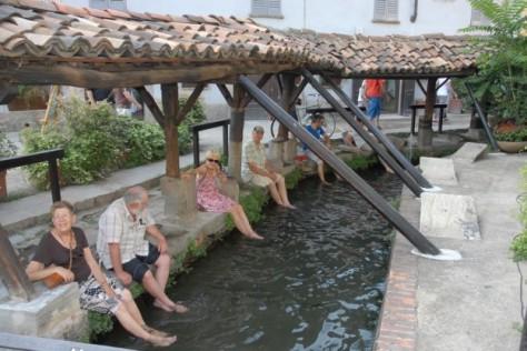 Vicolo dei lavandai a Milano