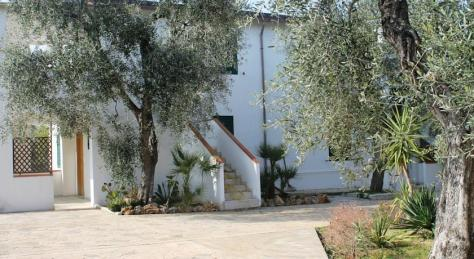 Esterni appartamenti, residence green garden vieste