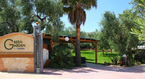 ingresso del Residence Green garden Vieste
