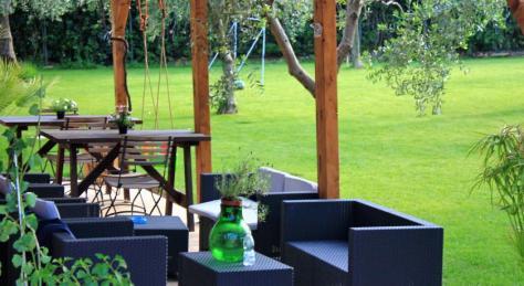 giardino, residence green garden vieste
