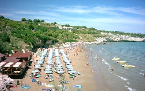spiaggia di San Lorenzo, residence green garden vieste