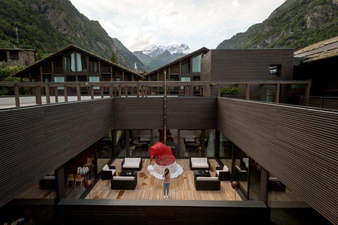 Nuovo, moderno, emozionante: il Mirtillo Rosso in Valsesia, il family hotel che non c'era!