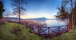 scorcio del lago di Vico