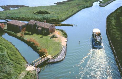 Delta del Po-escursione in barca