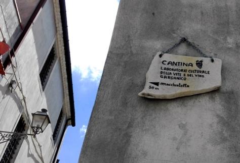 Centro storico di Vico del Gargano-particolare