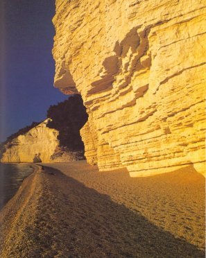 Gargano Spiaggia di Vignanotica all'alba