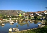Parco dei dinosauri-Borgo Celano-Laghetto