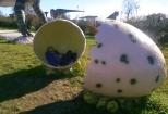 Parco dei dinosauri-Borgo Celano-uovo di dinosauro