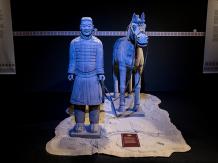 Guerrieri di terracotta-cavaliere