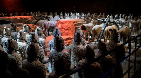 Guerrieri di terracotta-esercito