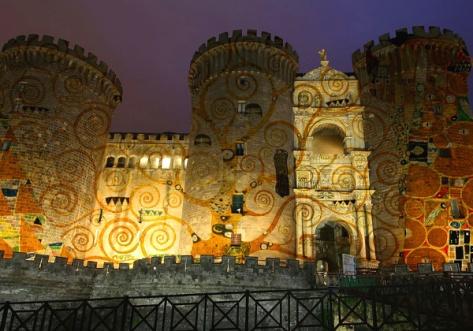 Klimt Experience-Napoli-Maschio Angioino