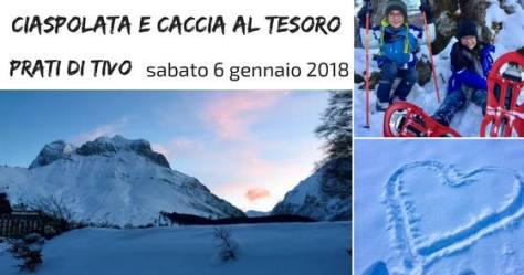 Ciaspolata e caccia al tesoro della Befana in Abruzzo